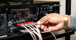connecting the old stereo to your new TV system